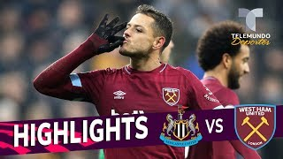 Newcastle vs. West Ham: 0-3 Goals & Highlights | Premier League | Telemundo Deportes