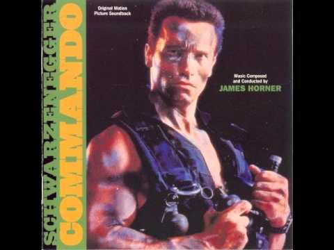 James Horner - soundtrack k filmu Commando