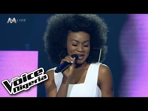 """J'Dess - """"Is it because I love you"""" / Live Show / The Voice Nigeria Season 2"""