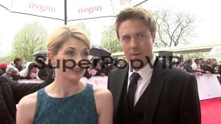 INTERVIEW - Jodie Whitaker, Andrew Buchan on coming to the US Screens at BAFTA TV Awards 2013 5/12/2013 in London, UK. Thanks for watching this video ...