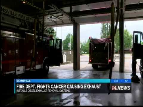 Evansville Fire Department vehicle exhaust removal