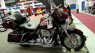 5. 2013 Harley-Davidson Touring CVO Ultra Classic Electra Glide - Walkaround - 2013 Montreal Motorcycle