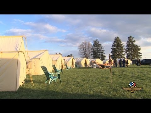 Glamping at IMS in 2014