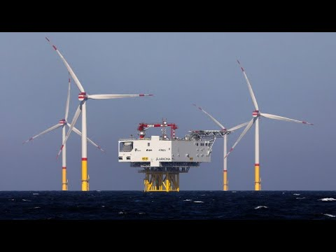 So wird aus Wind Strom: Offshore-Windpark in der Osts ...