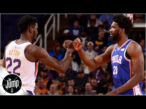 Video: Chauncey Billups not backing off Joel Embiid-Deandre Ayton comparisons | The Jump