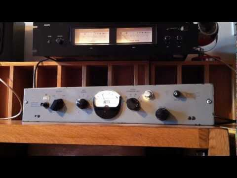 EMI RS124 ORIGINAL COMPRESSOR LIMITER FROM ABBEY ROAD STUDIOS USED BY THE BEATLES