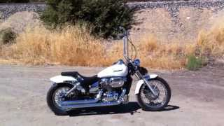 8. Honda Shadow Spirit 750 Cobra Exhaust Ape Hangers Lowered rejet kit k&n filter custom