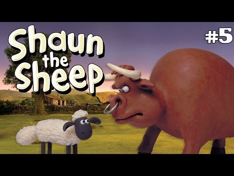 Shaun the Sheep - Awas Banteng Galak! [The Bull]