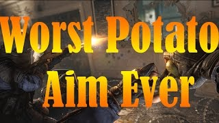 Worst Potato Aim Ever?!? Rainbow Six Siege Ranked and Casual Moments // Insane Potato Aim!!!!!!!