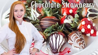 How to Make Chocolate Covered Strawberries - REUPLOADED with sound by Tatyana's Everyday Food