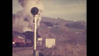 Taihape New Zealand  city photos : NZ Railways, Taihape, views of the town and loco depot 1966