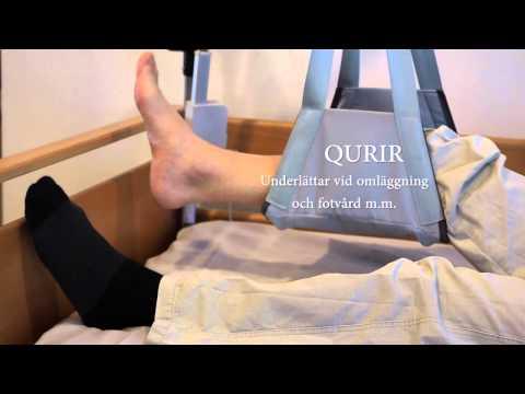 Qurir benlyft - fotvård