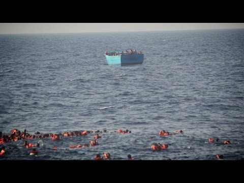 Massive rescue effort in the Mediterranean