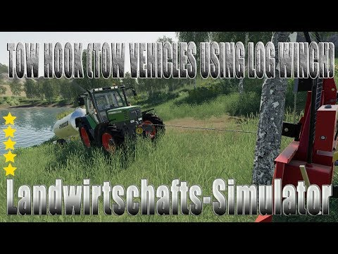 Tow Hook (tow vehicles using Log Winch) v1.0