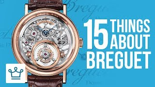 15 Things You Didn't Know About BREGUET  SUBSCRIBE to ALUX: https://www.youtube.com/channel/UCNjPtOCvMrKY5eLwr_-7eUg?sub_confirmation=1World's Most Expensive Watches: https://www.alux.com/most-expensive-watches-world/ROLEX Video: https://youtu.be/zs1lRKZ1puI?list=PLP35LyTOQVIv0fNwEgqmkrDd9d9Nkl7dzIn this Alux.com video we'll try to answer the following questions:Is Breguet a luxury brand?What is the most expensive Breguet watch in the world?How much does a Breguet watch cost?Is Breguet better than Rolex?What is the best Breguet Watch?How much money does a Breguet watch goes for?Where to buy Breguet watches?What is the best luxury watch?What are some things that you didn't know about Breguet?What are the best Breguet facts?WATCH MORE VIDEOS ON ALUX.COM!Most Expensive Things: https://www.youtube.com/watch?v=Ay0u3dJRZas&list=PLP35LyTOQVIu4tNnitmhUqIjySwUhfOylLuxury Cars: https://www.youtube.com/watch?v=m5GhenZZs1k&index=1&list=PLP35LyTOQVItrVHGzdB9KY-Sbjq4gU-YmBecoming a Billionaire: https://www.youtube.com/watch?v=Skwfwf2SNpw&index=6&list=PLP35LyTOQVIsO8kOTx8-YOgwkGvrPtJ3MWorld's Richest:  https://www.youtube.com/watch?v=rAy_G-1JF74&index=1&list=PLP35LyTOQVIvthSKr0S3JdjWw3qA9foBaInspiring People: https://www.youtube.com/watch?v=lMjO3Gg45pM&list=PLP35LyTOQVItaKCX5o3yaje6_H9D-GuEMTravel the World:https://www.youtube.com/watch?v=-Blsz2JbdgM&t=2s&index=23&list=PLP35LyTOQVIt823Sy_C3-166RLzONbw6WDark Luxury: https://www.youtube.com/watch?v=ch7JWVk8Ldk&index=6&list=PLP35LyTOQVIvQU6lzpW5_lryMmdB6zncUCelebrity Videos: https://www.youtube.com/watch?v=UuhPRVdDli0&list=PLP35LyTOQVIuJuINlyvSU2VvP6pk9zjUkBusinesses & Brands: https://www.youtube.com/watch?v=Xr2YdBz2uWk&list=PLP35LyTOQVIv0fNwEgqmkrDd9d9Nkl7dz-Follow us on INSTAGRAM for amazing visual inspiration:https://www.instagram.com/alux/&Don't miss the latest Luxury News only on Facebook:https://www.facebook.com/ealuxe---Alux.com is the largest community of luxury & fine living enthusiasts in the world. We are the #1 online resource for ranking the most expensive things in the world and frequently refferenced in publications such as Forbes, USAToday, Wikipedia and many more, as the GO-TO destination for luxury content!Our website: https://www.alux.com is the largest social network for people who are passionate about LUXURY! Join today!SUBSCRIBE so you never miss another video: https://goo.gl/KPRQT8--To see how rich is your favorite celebrity go to: https://www.alux.com/networth/--For businesses inquiries we're available at:https://www.alux.com/contact/