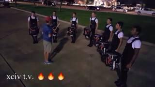 Phantom Regiment Drumline 2017 Texas