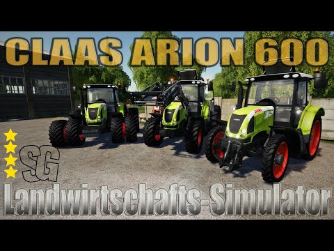 Claas Arion 600 (610, 620, 630, 640) v1.2.1.9
