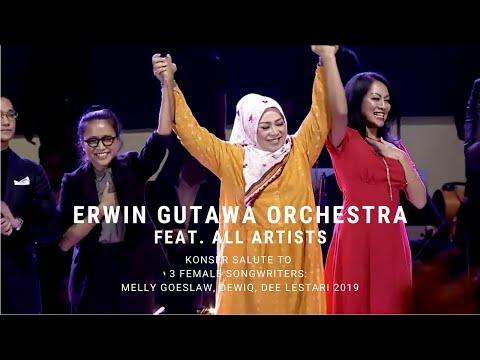 Erwin Gutawa Orchestra ft All Artists - Closing (Konser Salute Erwin Gutawa to 3 Female Songwriters)