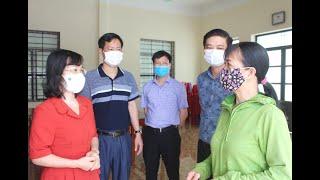 Phó Chủ tịch Thường trực HĐND tỉnh Trịnh Thị Minh Thanh kiểm tra công tác chuẩn bị bầu cử tại TP Uông Bí