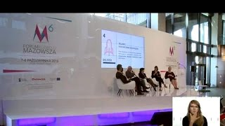 Rola regionalnych centrów designu w budowie przewagi konkurencyjnej firm - debata w ramach 6 FRM