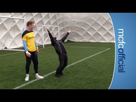 HART vs. HART: Kevin Hart scores a penalty against Joe Hart!