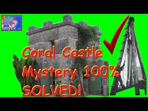 coral castle: mistero risolto!