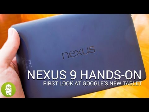 nexus - Here we're getting our first hands-on look at the Nexus 9, the first proper 64-bit device for Android, and one of the first to run Android 5.0 Lollipop. The ...