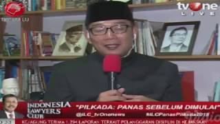 Video ILC tv One, Dahsyatnya Komentar Ridwan Kamil di ILC Panas Pilkada 2018 MP3, 3GP, MP4, WEBM, AVI, FLV Desember 2018