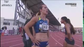 100m Women'sOlesya Povkh 10.55Decanation 2016