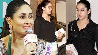 "Sara Ali Khan is all set to step into Bollywood film industry with director Abhishek Kapoor's Kedarnath. Kareena says Sara ""has it in her genes"" and is looking gorgeous.Click here to DOWNLOAD the Bollywoodbackstage Mobile App Android APP-https://play.google.com/store/apps/details?id=com.app.bollywoodapp iOS  APP-https://itunes.apple.com/app/id959275342 For more Bollywood news and gossiphttp://www.youtube.com/user/bollywoodbackstage?feature=mheeSubscribe at http://www.youtube.com/subscription_center?add_user=BollywoodBackstageLike us on Facebookhttp://www.facebook.com/bollywoodbackstageFollow us on Twitterhttps://twitter.com/#!/BollywoodBstage"