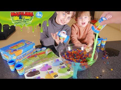 EXPERIENCE INÉDITE • SLIME + ORBEEZ = ?? - Studio Bubble Tea Maxilime Liquid Slime Edition