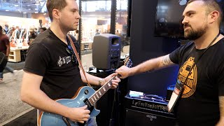 Video Playing THE FORBIDDEN RIFF in a Huge Guitar Store MP3, 3GP, MP4, WEBM, AVI, FLV Agustus 2019