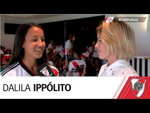 Dalila Ippólito, una de las protagonistas del shooting millonario