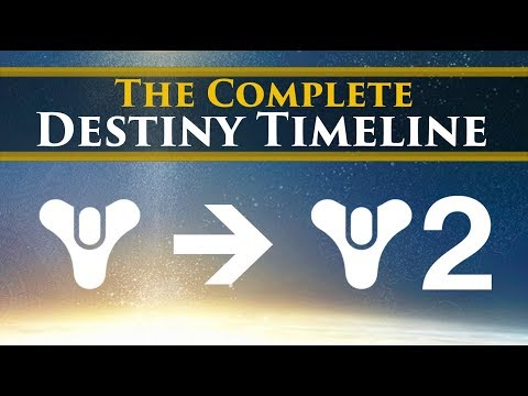 The Complete Story Of Destiny - [Timeline & Lore Explained]