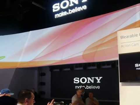Sony Booth at 2013 International CES