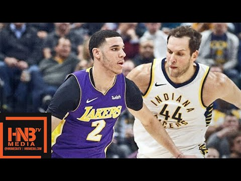 Los Angeles Lakers vs Indiana Pacers Full Game Highlights  March 19  2017-18 NBA Season