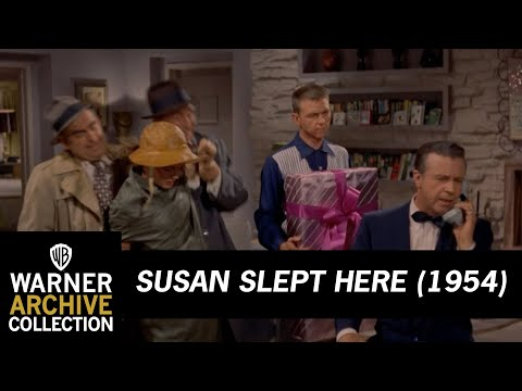 Susan Slept Here (1954) – Unexpected Christmas Present