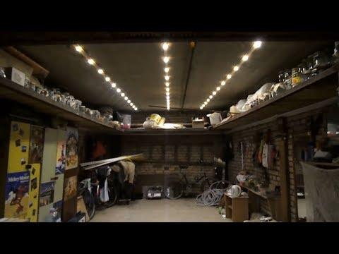Освещение гаража на светодиодах своими руками 179