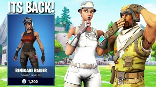 I Told Kids in RANDOM SQUADS that RENEGADE RAIDER is BACK IN ITEM SHOP and they backed out..