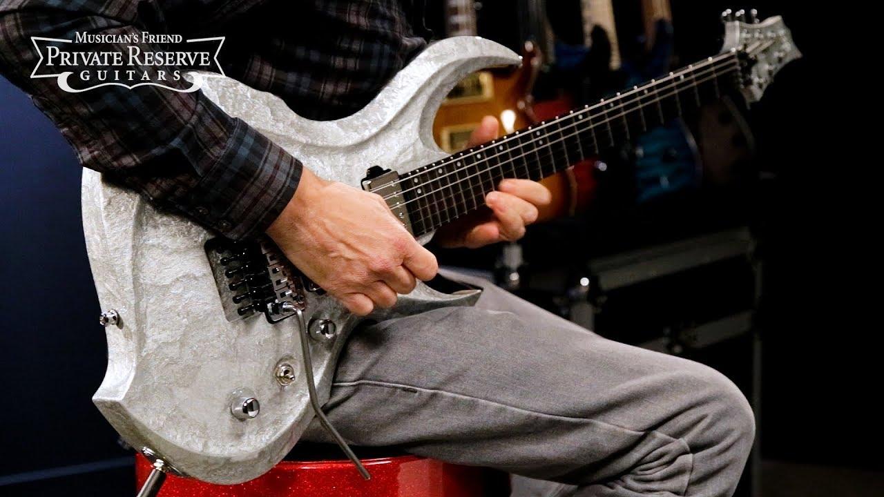 ESP Original Series Metallic Silver FRX CTM Electric Guitar