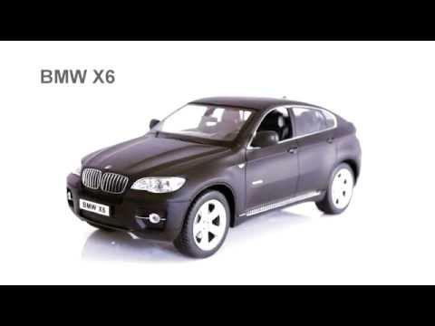 Машинка р/у 1:14 Meizhi лиценз. BMW X6 (красный)