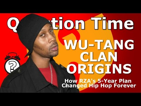 WU-TANG CLAN ORIGINS - How RZA's 5-Year Plan Changed Hip Hop Forever