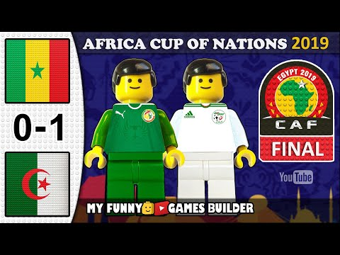 Africa Cup of Nations Final 2019 🏆 Senegal vs Algeria 0-1• AFCON All Goals Highlights LEGO Football