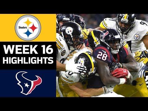 Video: Steelers vs. Texans | NFL Week 16 Game Highlights