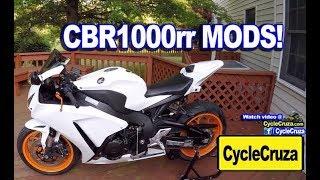9. My Honda CBR1000rr MODS Review Update