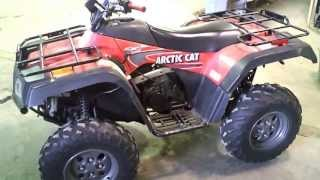 6. LOT 1591A 2003 Arctic Cat 400 4X4 FIS Running 230 Miles on it