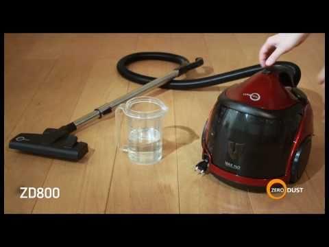 Aspirapolvere ad acqua Zero Dust ZD800 aspira solidi e liquidi