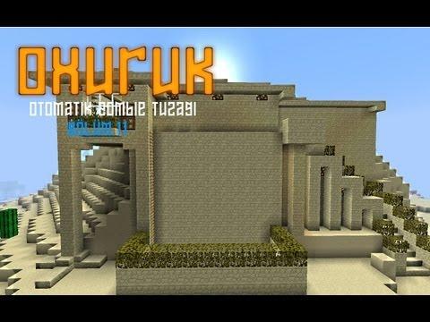 Minecraft Otomatik Zombie Tuzağı (Kısa Film)
