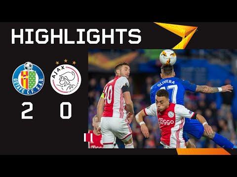 FC Getafe Madrid 2-0 AFC Ajax Amsterdam   ( E. L. ...
