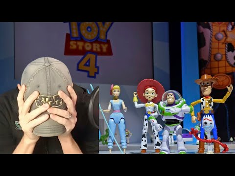 Reaction - Toy Story 4 Trailer Looks Kinda Underwhelming